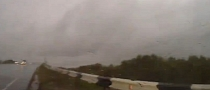 Heavy Rain Causes Car to Do 720-Degree Spin on Russian Highway [Video]