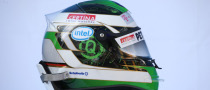 Heidfeld Changes Helmet Ahead of 2009 Season