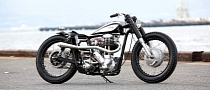 Heiwa Adds Japanese Flavor to this Custom Norton [Photo Gallery]