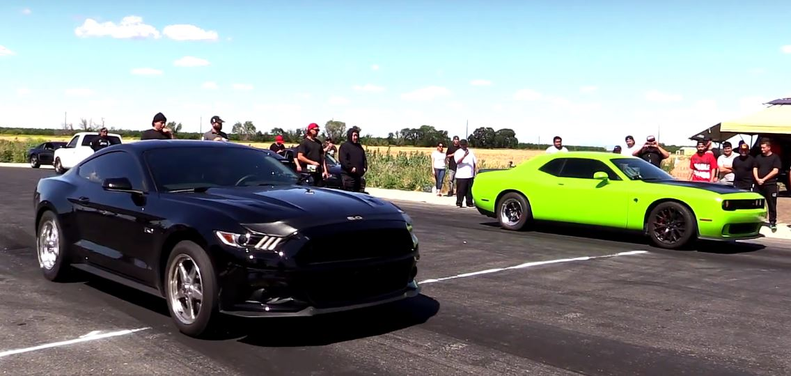 Tuned 2015 Mustang Gt Humiliates Tuned 2015 Hellcat As