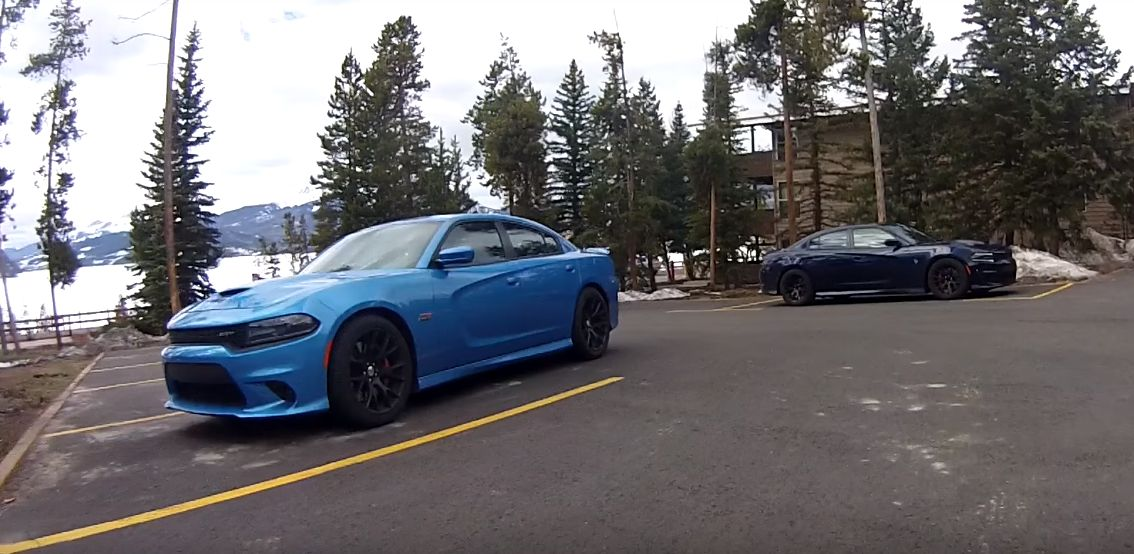 is dodge testing an awd dodge charger hellcat autoevolution. Black Bedroom Furniture Sets. Home Design Ideas