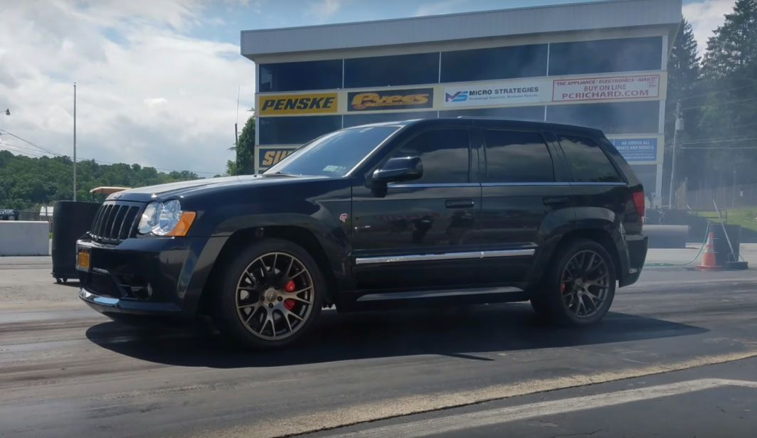 Hellcat Engined Jeep Grand Cherokee Does Amazing 10 8s 1 4 Mile