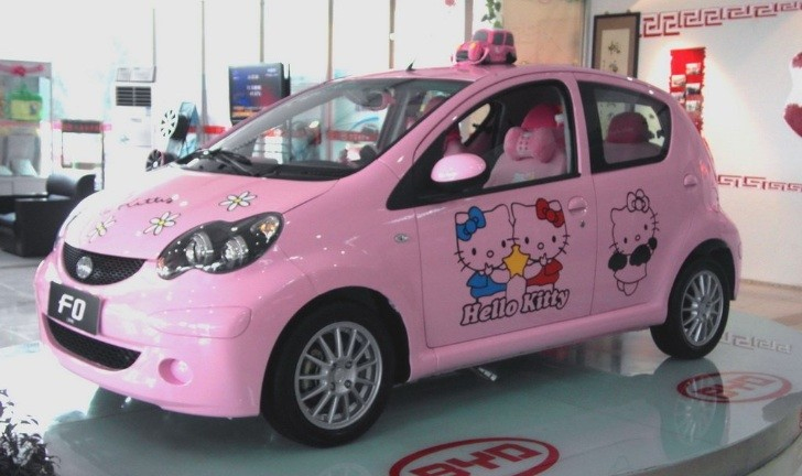 Hello Kitty BYD F0: Pink Car Hell from China