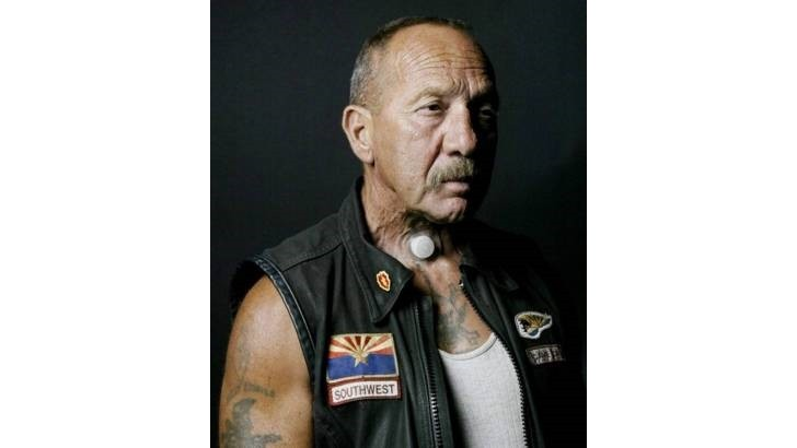 Hells Angels' Sonny Barger and Phil Cross Attend the Corbin Rider