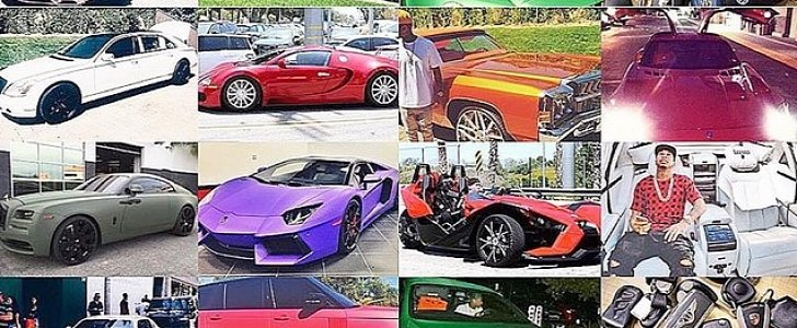 Help Us Identify Each of Rapper Tyga's Expensive Cars ...