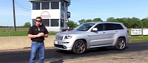 Hennessey's 2013 Jeep Grand Cherokee SRT8 Hits the Dragstrip [Video]