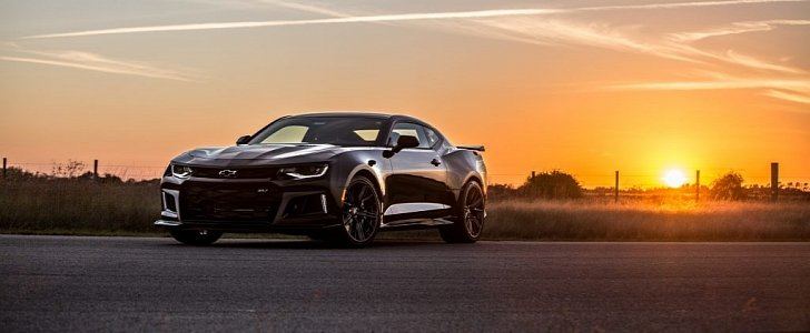 Hennessey Pushes 2017 Chevrolet Camaro Zl1 To 1 000 Hp In Muscle Frenzy Program Autoevolution