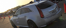 Hennessey Sets Cadillac CTS-V Standing Mile Record [Video]