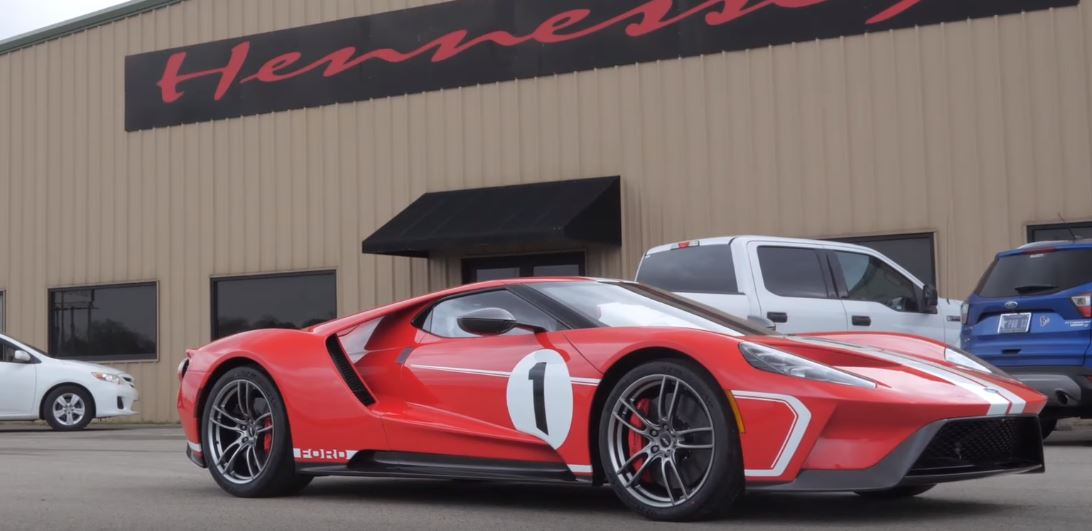 Hennessey Starts Working On 2018 Ford Gt With Heritage Edition
