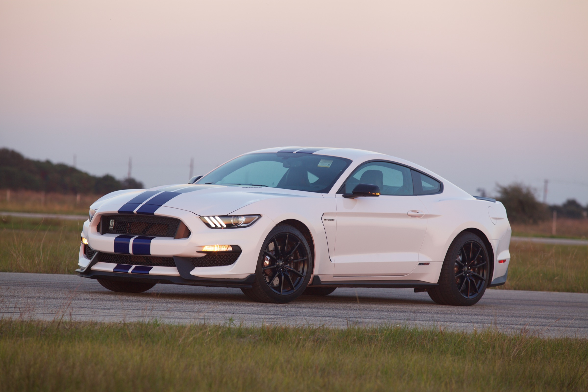 hennessey supercharges 2016 mustang shelby gt350 to a. Black Bedroom Furniture Sets. Home Design Ideas