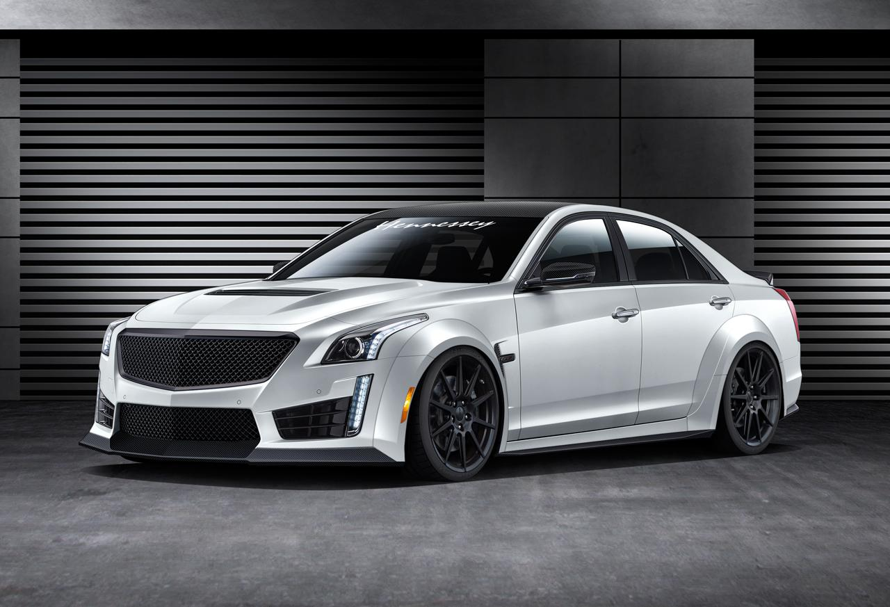 hennessey wants to turn the cadillac cts v into the fastest 4 door saloon in the world. Black Bedroom Furniture Sets. Home Design Ideas