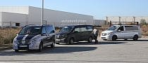 Herd of 2015 Mercedes-Benz V-Class Prototypes Caught in The Open [Photo Gallery]