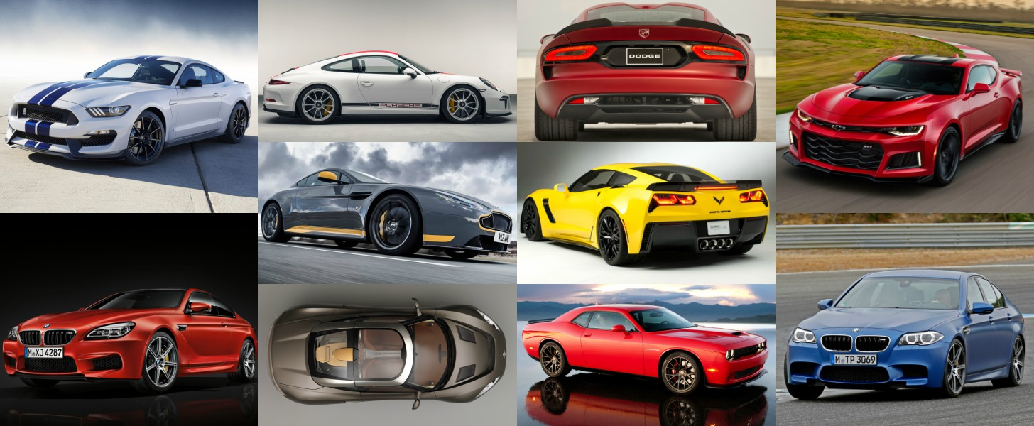 here are the most powerful cars with a manual transmission available in 2016. Black Bedroom Furniture Sets. Home Design Ideas