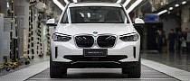 Here Comes the Chinese-Made BMW iX3, First One Rolls Off the Lines