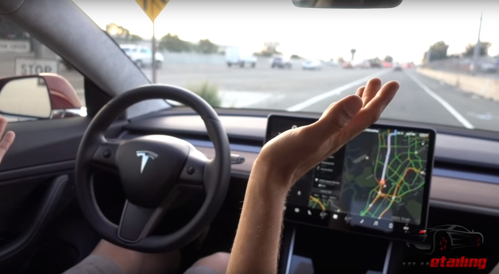 Here Is The Tesla Model 3 Driving Review You Ve Been Waiting For