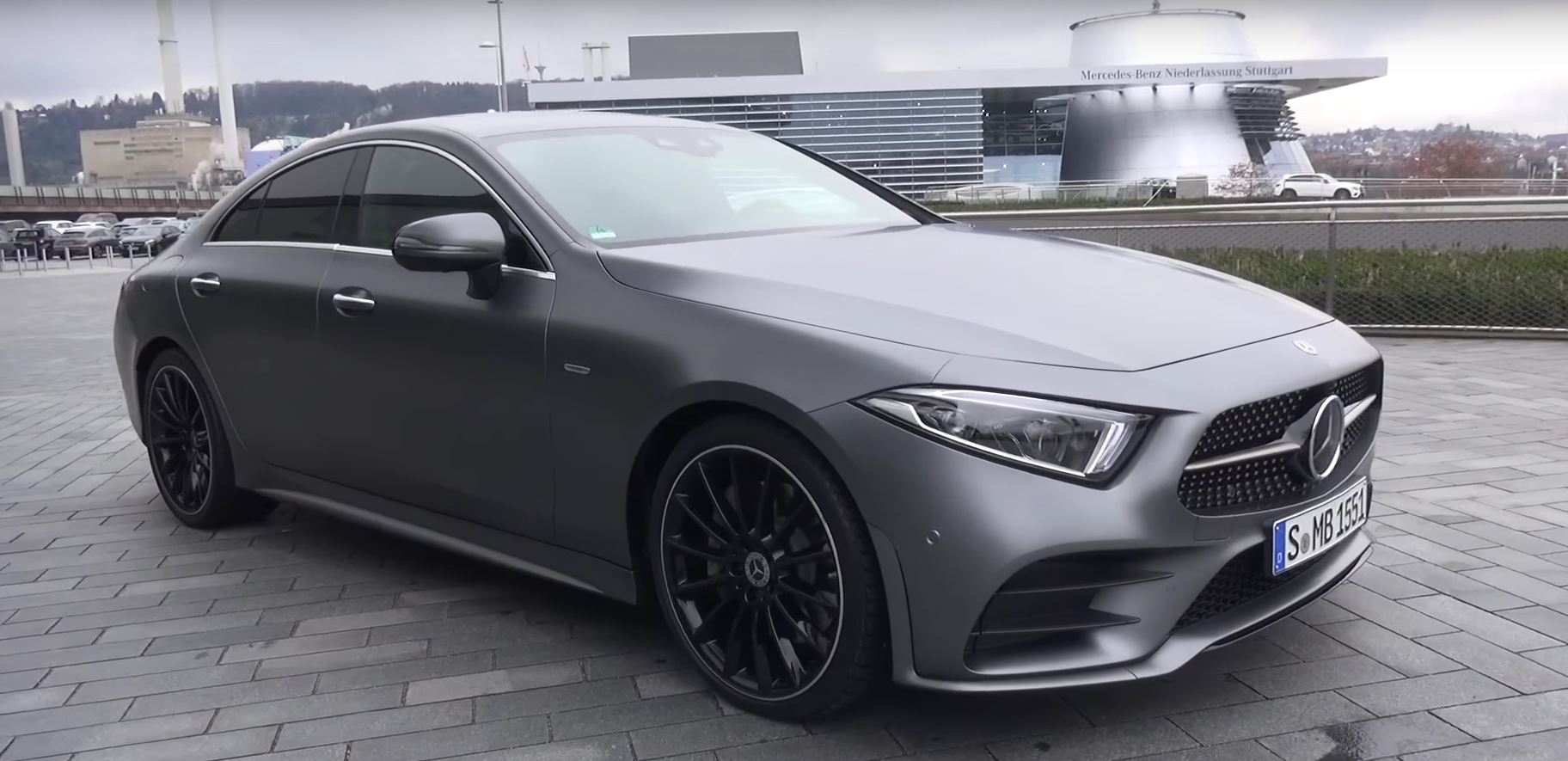 here 39 s a 2019 mercedes cls class walkaround from shmee150. Black Bedroom Furniture Sets. Home Design Ideas