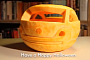 Here's a Car-Shaped Halloween Pumpkin [Video]