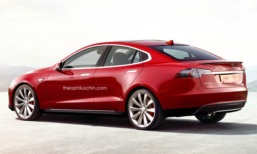Here S A Good Hint On How The Tesla Model 3 Could Look