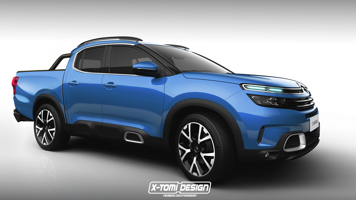 Here's a More Reasonable Rendering of the Alleged Citroen ...