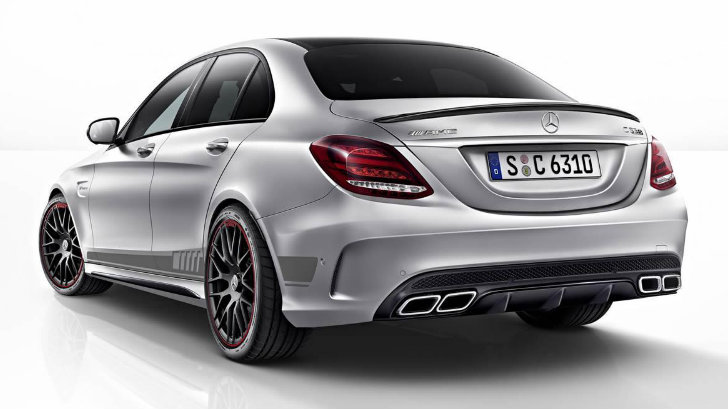 Working For Uber Reviews >> Here's the Mercedes-AMG C 63 S Edition 1 In All Its Biturbocharged Glory - autoevolution