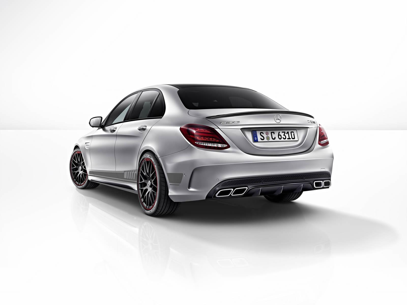 Here s the Mercedes AMG C 63 S Edition 1 In All Its Biturbocharged