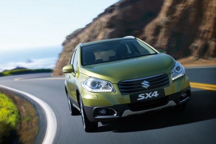 Here's the New, Bigger Suzuki SX4 [Photo Gallery]