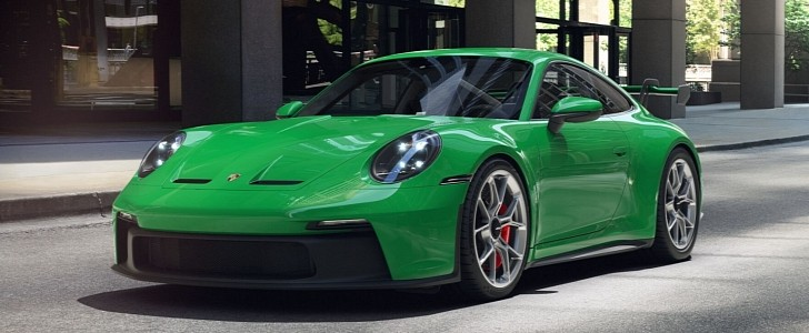 photo of Here's the 2022 Porsche 911 GT3 in Every Color Available image