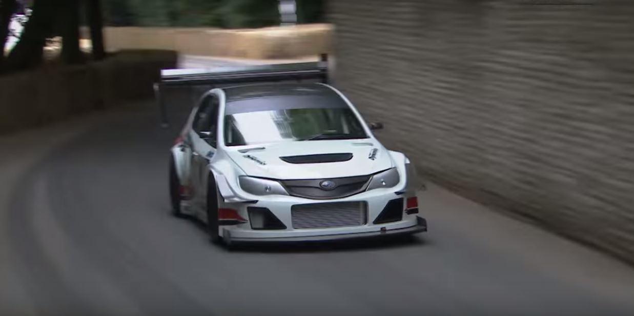 Here S The Subaru Wrx Sti Racecar That Dissed Mclaren S P1 Lm At