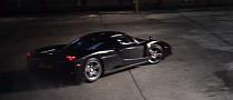 Here's Your Average... Ferrari Enzo Doing Donuts [Video]