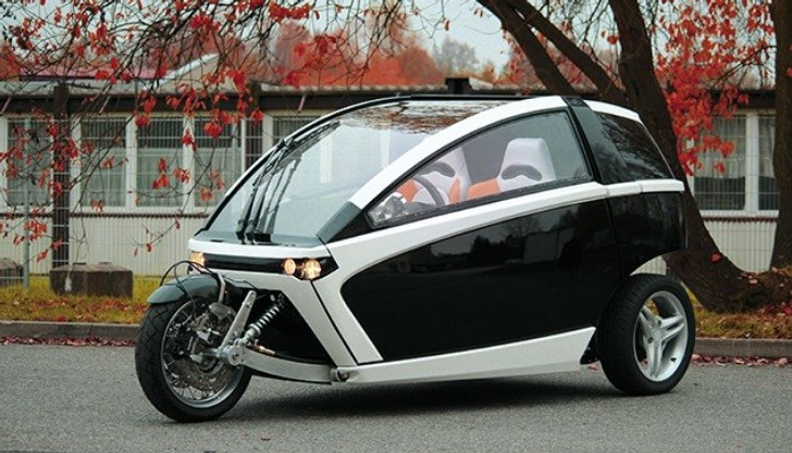 Here's Another Electric Three-Wheeler Worth Mentioning ...