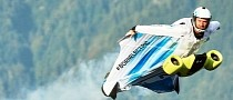 Here's BMW's All-Electric Wingsuit Taking Its Maiden Flight