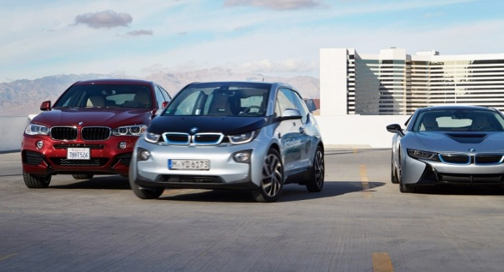 Wonderful Heres How A Prototype BMW I3 Looks For A Spot And Parks Itself