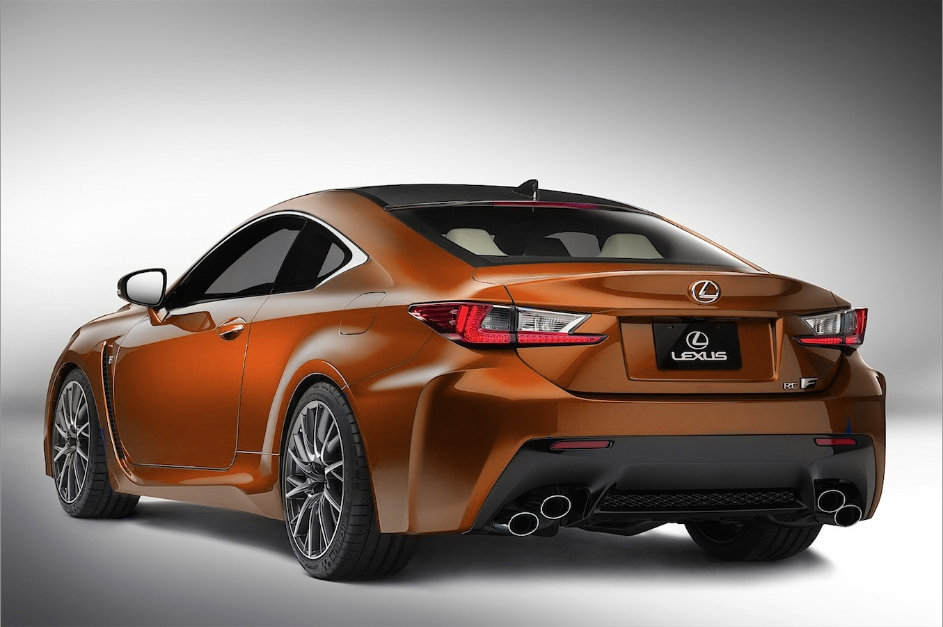 Uber Black Car Models >> Here's How the Lexus RC F Will Look in New Orange - autoevolution