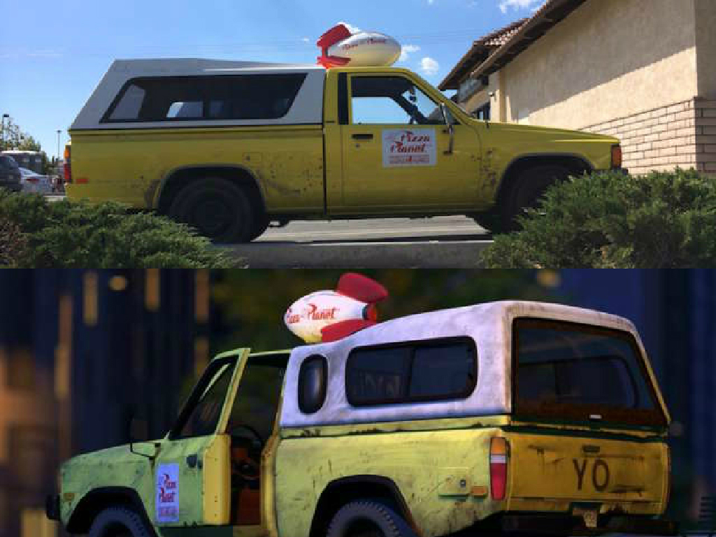 Here's the Story Behind the Real Life Pizza Planet Truck ...