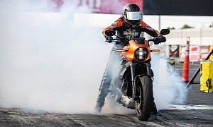 Here's What It Takes to Drag Race a Harley-Davidson LiveWire