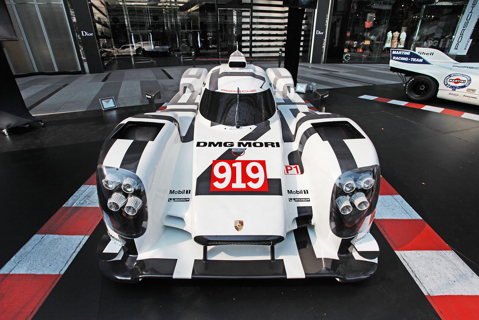 Here\'s Your Chance to Own a Porsche 919 Hybrid 1:1 Model Car Rolling ...