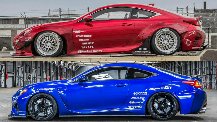Here's Your Rocket Bunny Lexus RC and a More Visceral RC F