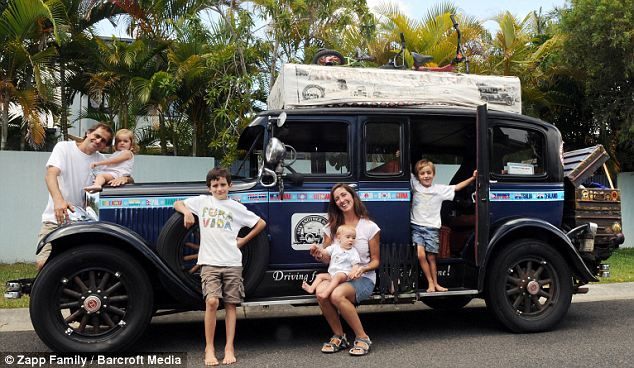 how to live on the road with a family