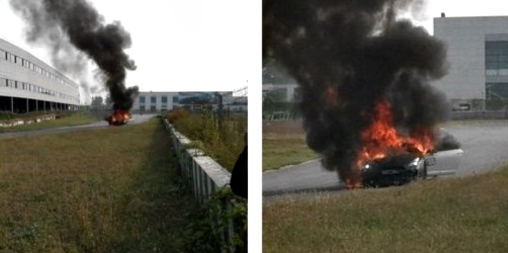 Highly-Tuned 1000 Hp Nissan GT-R Burns in Beijing