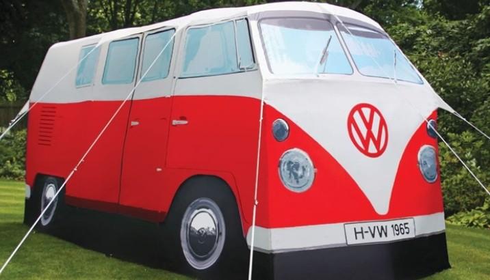 Hippie Vw Bus Tent Will Make Your Woodstock Memories
