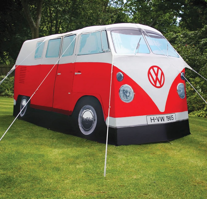 Hippie Vw Bus Tent Will Make Your Woodstock Memories