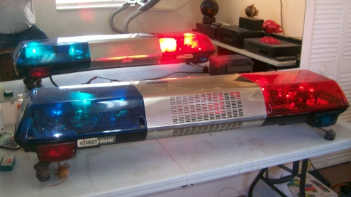 Police Car Light Bars Sale