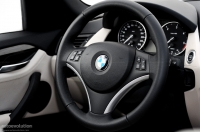 2010 BMW X1 steering wheel