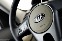 2010 Kia Soul steering wheel