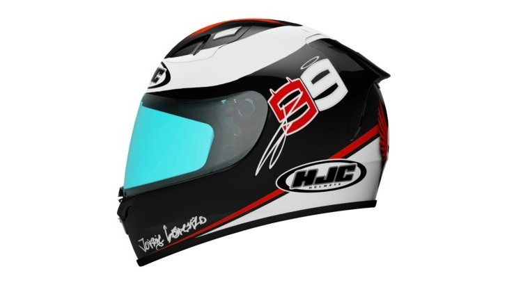 HJC Announces the FG-17 Jorge Lorenzo-Themed Helmet