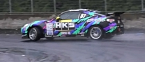 HKS Toyota GT 86 Drifting Machine [Video]