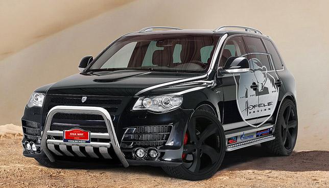 Hofele design presents touareg silk way rally kit autoevolution