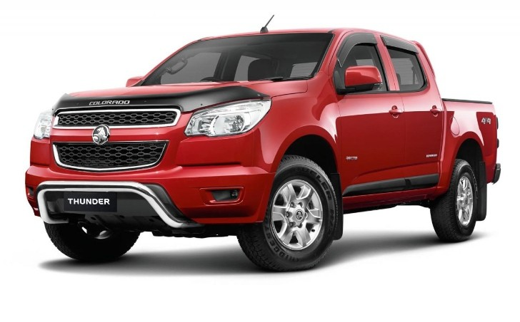 Holden Launches Colorado Thunder Special Edition Autoevolution