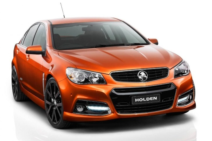 Holden Reveals Striking VF Commodore SS V [Photo Gallery]