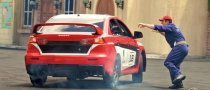 Hollywood Debut for Mitsubishi Lancer Evo X